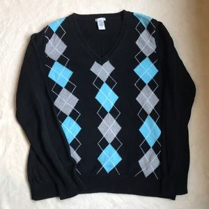 Ladies Argyle Sweater